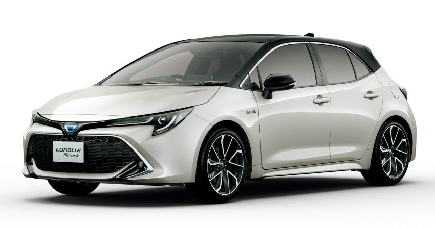 2019 Toyota Corolla officially goes on sale in Japan – three body styles; 1.8 NA, 1.2 turbo, 1.8 hybrid Image #1016119