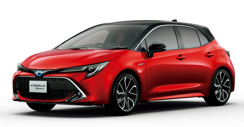 2019 Toyota Corolla officially goes on sale in Japan – three body styles; 1.8 NA, 1.2 turbo, 1.8 hybrid Image #1016121