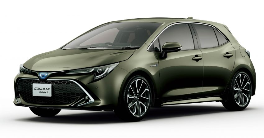 2019 Toyota Corolla officially goes on sale in Japan – three body styles; 1.8 NA, 1.2 turbo, 1.8 hybrid Image #1016122