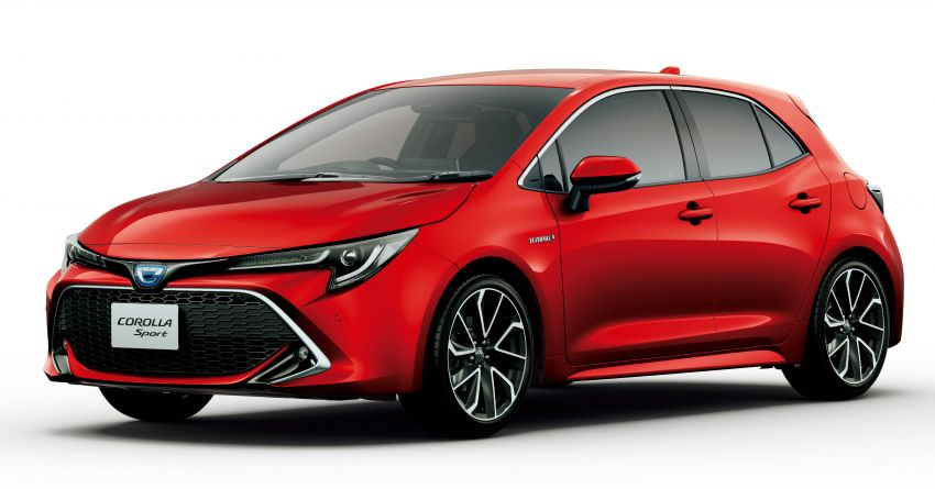 2019 Toyota Corolla officially goes on sale in Japan – three body styles; 1.8 NA, 1.2 turbo, 1.8 hybrid Image #1016123