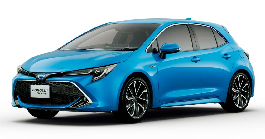 2019 Toyota Corolla officially goes on sale in Japan – three body styles; 1.8 NA, 1.2 turbo, 1.8 hybrid Image #1016124