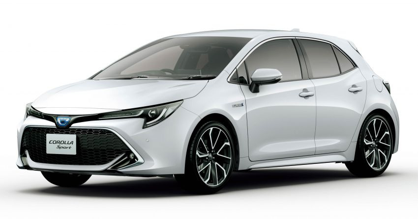 2019 Toyota Corolla officially goes on sale in Japan – three body styles; 1.8 NA, 1.2 turbo, 1.8 hybrid Image #1016125