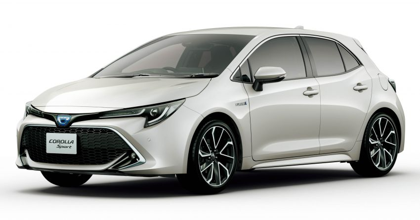 2019 Toyota Corolla officially goes on sale in Japan – three body styles; 1.8 NA, 1.2 turbo, 1.8 hybrid Image #1016127