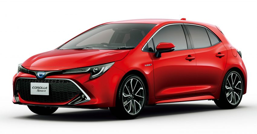 2019 Toyota Corolla officially goes on sale in Japan – three body styles; 1.8 NA, 1.2 turbo, 1.8 hybrid Image #1016128