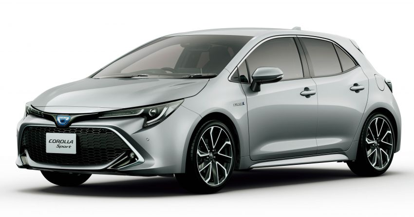 2019 Toyota Corolla officially goes on sale in Japan – three body styles; 1.8 NA, 1.2 turbo, 1.8 hybrid Image #1016129