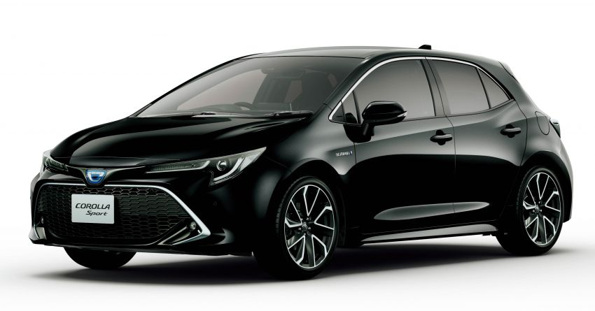 2019 Toyota Corolla officially goes on sale in Japan – three body styles; 1.8 NA, 1.2 turbo, 1.8 hybrid Image #1016130