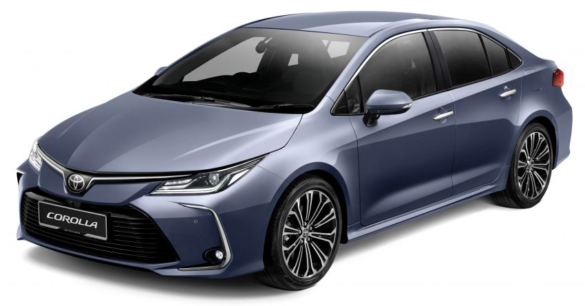 2019 toyota corolla now open for booking in malaysia  u2013 toyota safety sense offered  est price