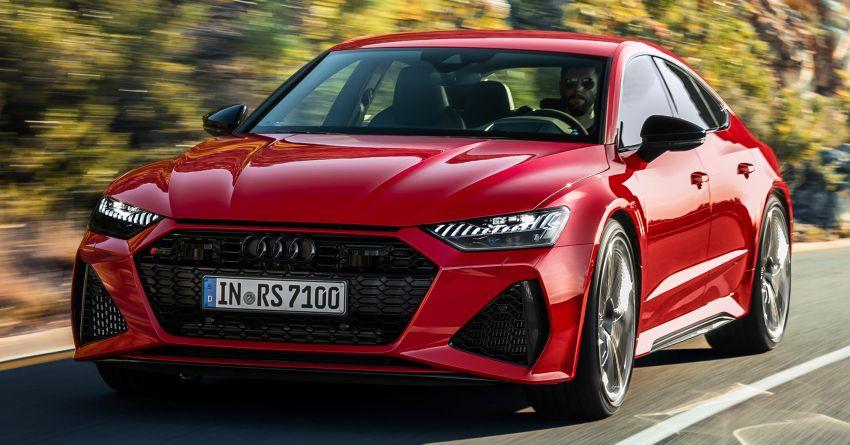 Audi RS7 Sportback – enjin V8 4.0L, 600 hp, 800 Nm Image #1013779