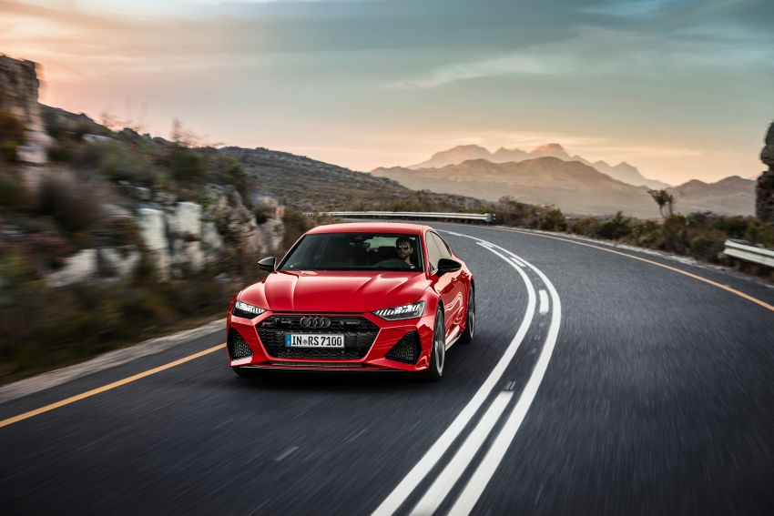 Audi RS7 Sportback – enjin V8 4.0L, 600 hp, 800 Nm Image #1013784