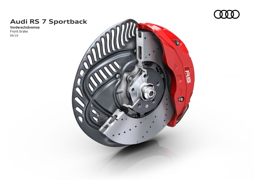 Audi RS7 Sportback – enjin V8 4.0L, 600 hp, 800 Nm Image #1013818