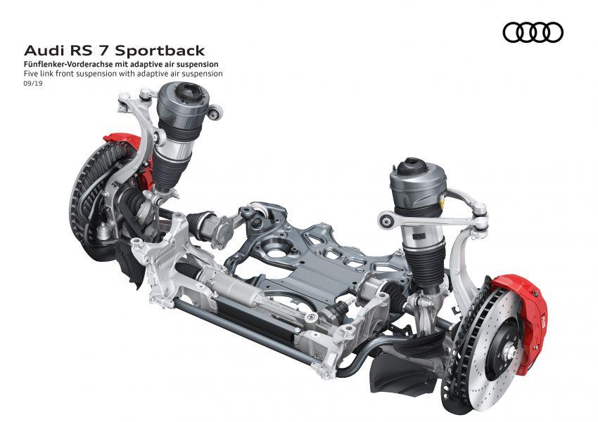 Audi RS7 Sportback – enjin V8 4.0L, 600 hp, 800 Nm Image #1013820