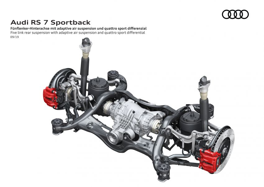 Audi RS7 Sportback – enjin V8 4.0L, 600 hp, 800 Nm Image #1013822