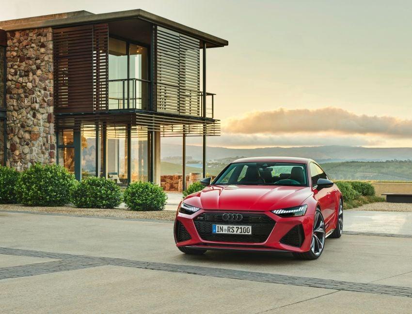 Audi RS7 Sportback – enjin V8 4.0L, 600 hp, 800 Nm Image #1013828