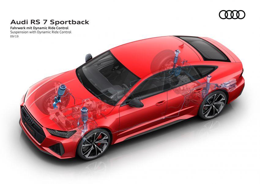 Audi RS7 Sportback – enjin V8 4.0L, 600 hp, 800 Nm Image #1013841