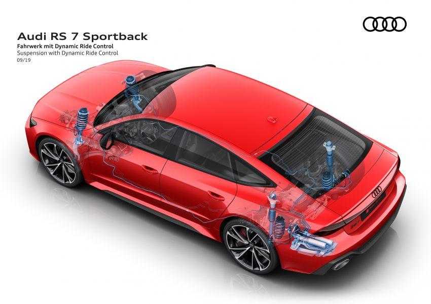 Audi RS7 Sportback – enjin V8 4.0L, 600 hp, 800 Nm Image #1013842