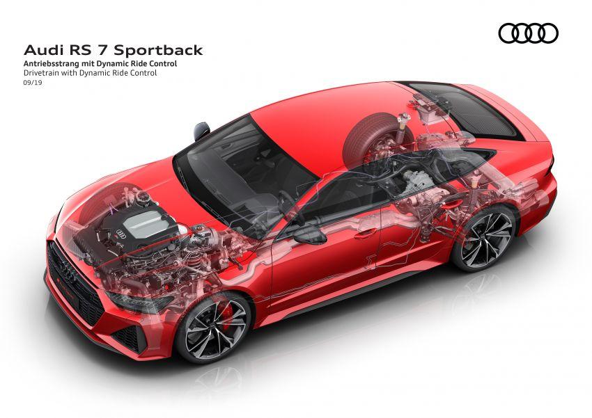 Audi RS7 Sportback – enjin V8 4.0L, 600 hp, 800 Nm Image #1013845