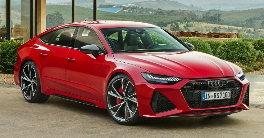 Audi RS7 Sportback – enjin V8 4.0L, 600 hp, 800 Nm Image #1013765
