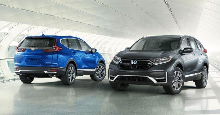 2020 Honda CR-V facelift revealed in the United States – updated styling, Hybrid variant added to line-up Image #1017261