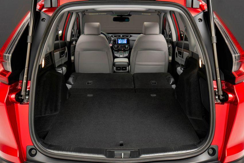 2020 Honda CR-V facelift revealed in the United States – updated styling, Hybrid variant added to line-up Image #1017276