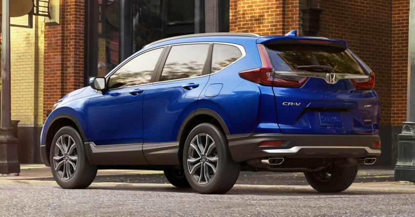 2020 Honda CR-V facelift revealed in the United States – updated styling, Hybrid variant added to line-up Image #1017263