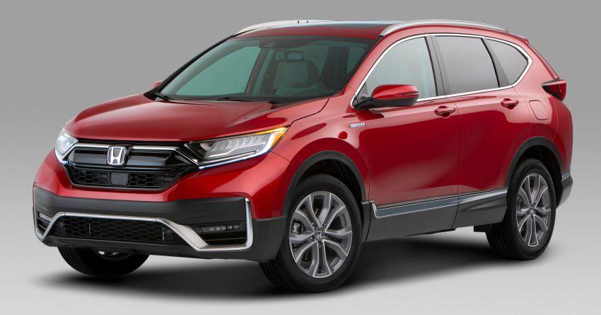 2020 Honda CR-V facelift revealed in the United States – updated styling, Hybrid variant added to line-up Image #1017264