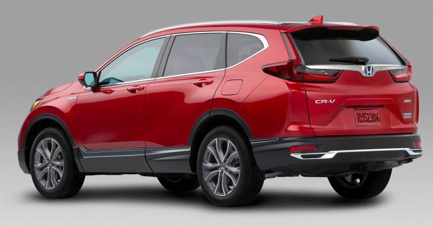2020 Honda CR-V facelift revealed in the United States – updated styling, Hybrid variant added to line-up Image #1017265
