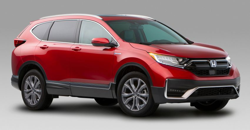 2020 Honda CR-V facelift revealed in the United States – updated styling, Hybrid variant added to line-up Image #1017267