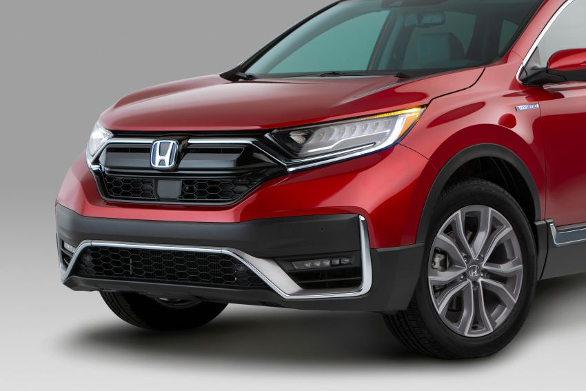 2020 Honda CR-V facelift revealed in the United States – updated styling, Hybrid variant added to line-up Image #1017268