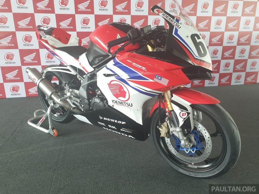 2020 ARRC AP250 class see entry of new Malaysian Team Idemitsu Boon Siew Honda Racing Image #1017811