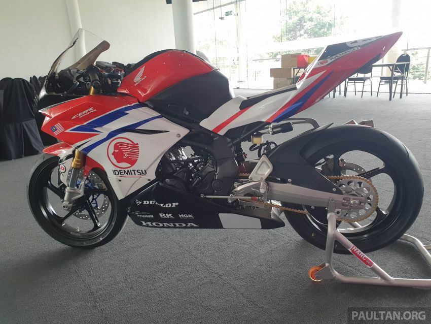 2020 ARRC AP250 class see entry of new Malaysian Team Idemitsu Boon Siew Honda Racing Image #1017831