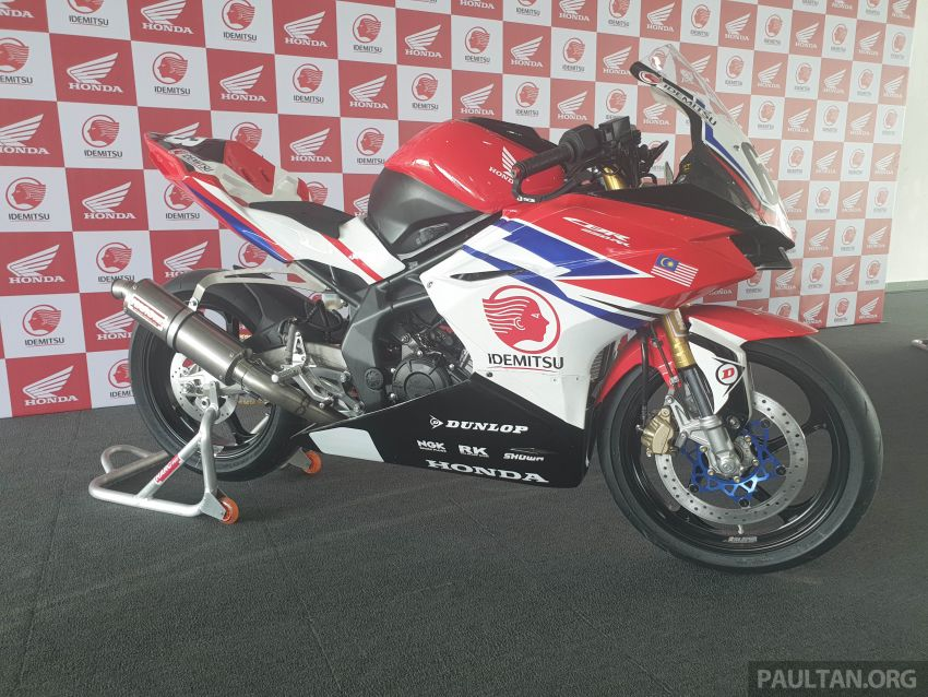 2020 ARRC AP250 class see entry of new Malaysian Team Idemitsu Boon Siew Honda Racing Image #1017812