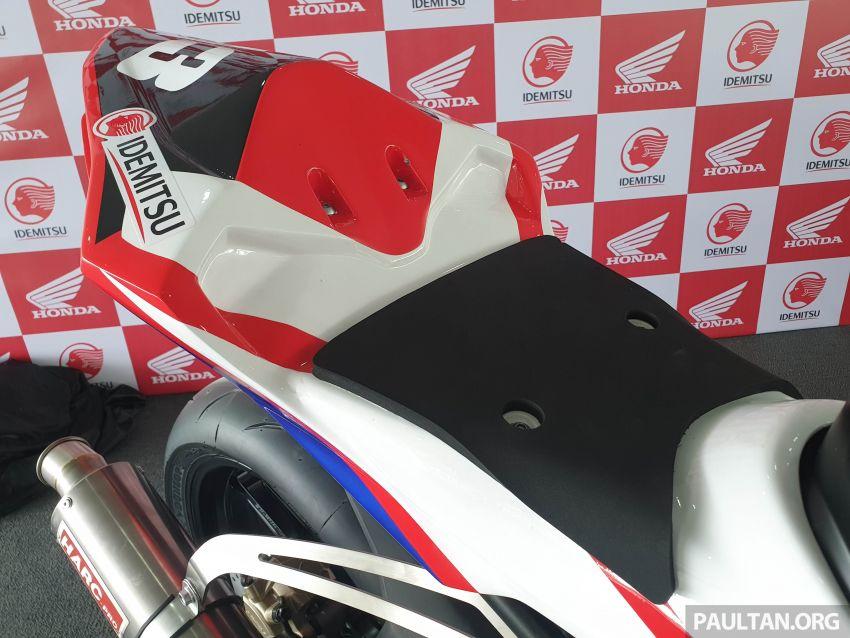 2020 ARRC AP250 class see entry of new Malaysian Team Idemitsu Boon Siew Honda Racing Image #1017838