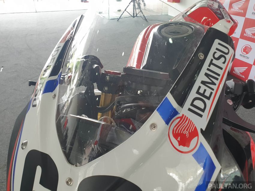 2020 ARRC AP250 class see entry of new Malaysian Team Idemitsu Boon Siew Honda Racing Image #1017850