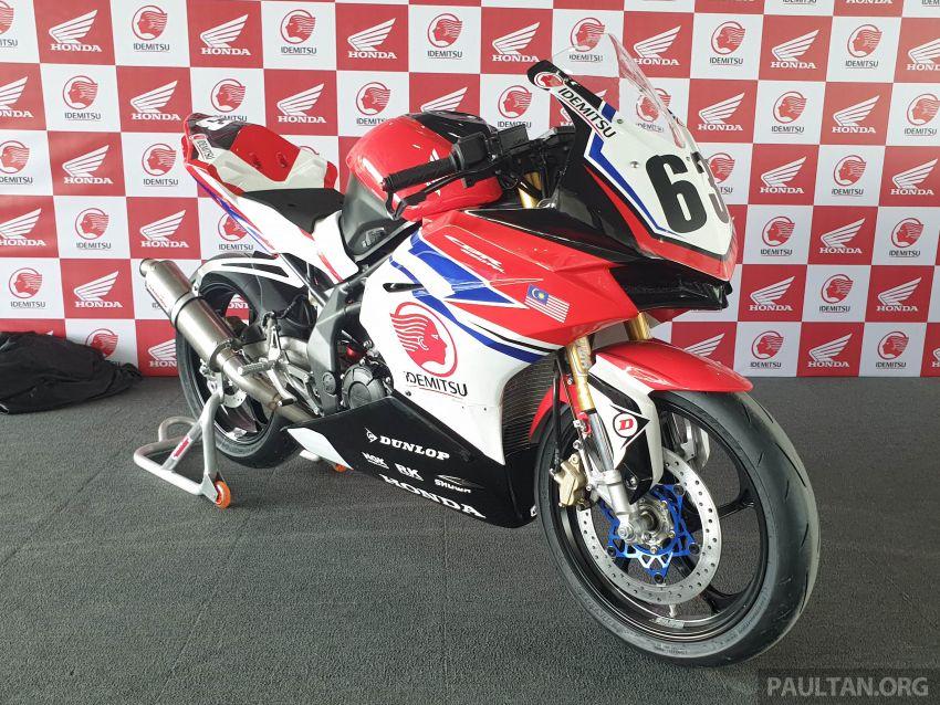 2020 ARRC AP250 class see entry of new Malaysian Team Idemitsu Boon Siew Honda Racing Image #1017852