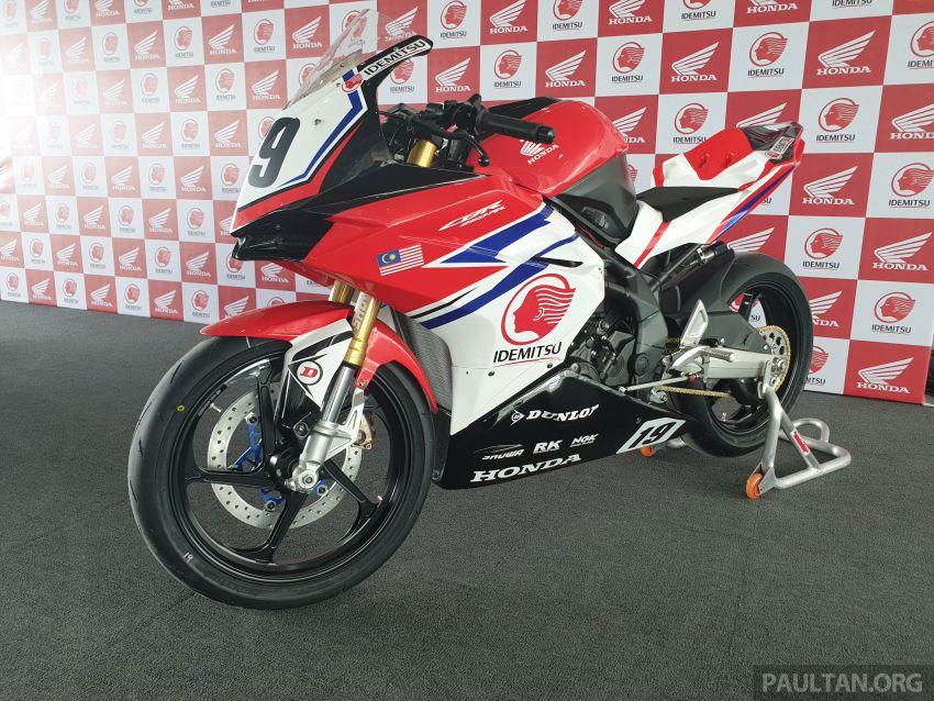 2020 ARRC AP250 class see entry of new Malaysian Team Idemitsu Boon Siew Honda Racing Image #1017859