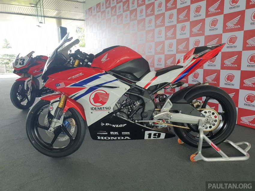 2020 ARRC AP250 class see entry of new Malaysian Team Idemitsu Boon Siew Honda Racing Image #1017861