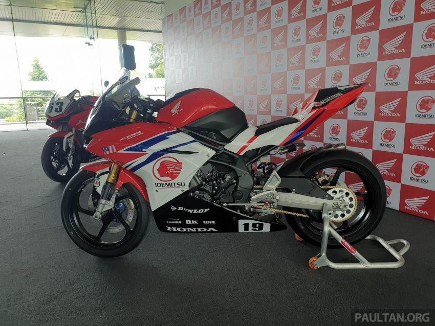 2020 ARRC AP250 class see entry of new Malaysian Team Idemitsu Boon Siew Honda Racing Image #1017863