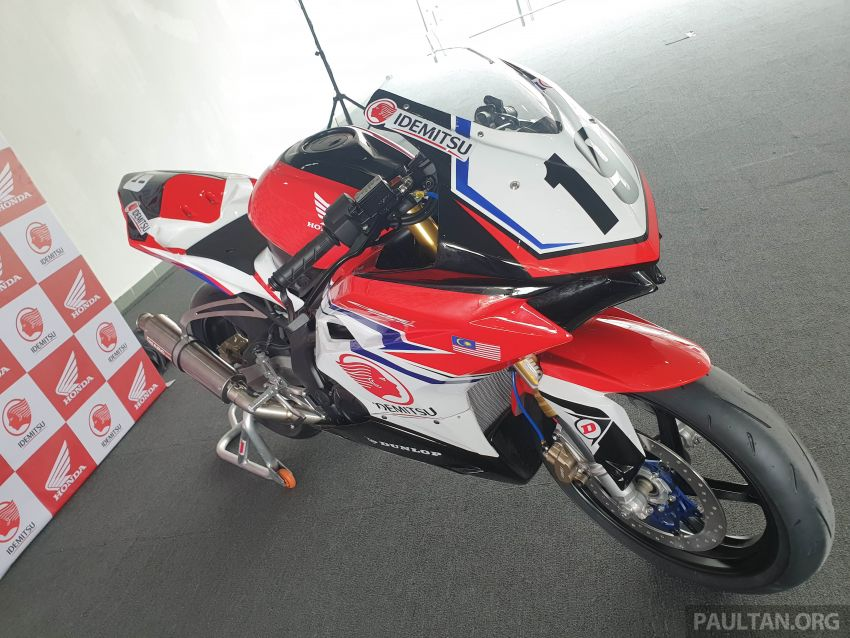 2020 ARRC AP250 class see entry of new Malaysian Team Idemitsu Boon Siew Honda Racing Image #1017865