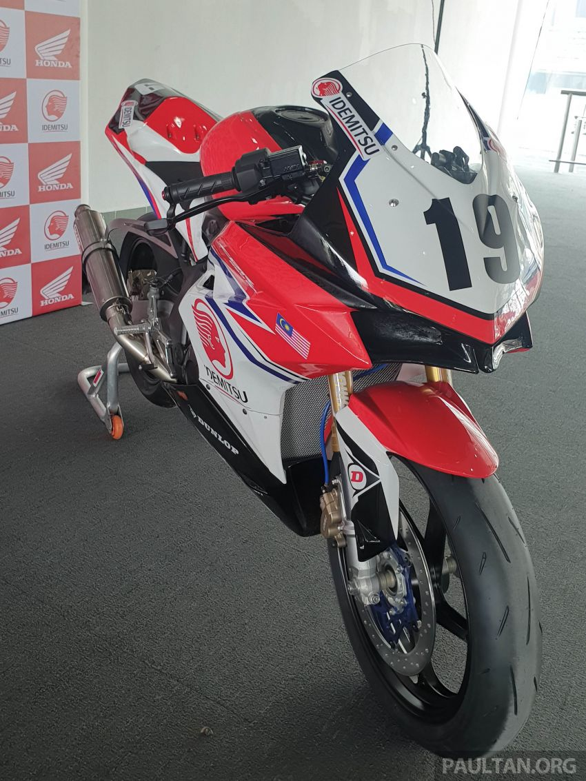 2020 ARRC AP250 class see entry of new Malaysian Team Idemitsu Boon Siew Honda Racing Image #1017867