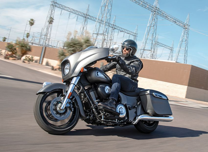Indian Motorcycle perkenal model 2020 berenjin 1.9L Image #1014125
