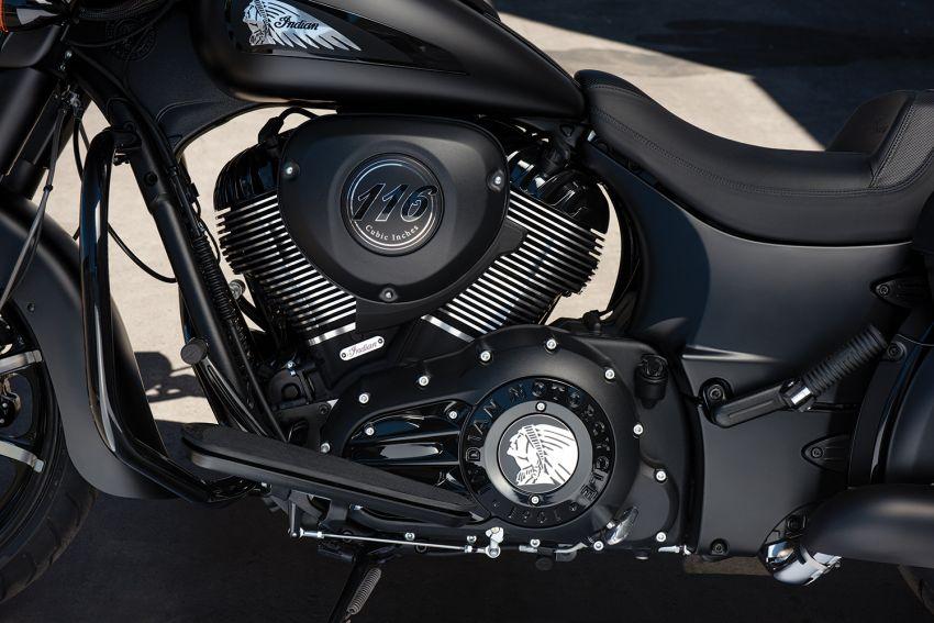 Indian Motorcycle perkenal model 2020 berenjin 1.9L Image #1014132