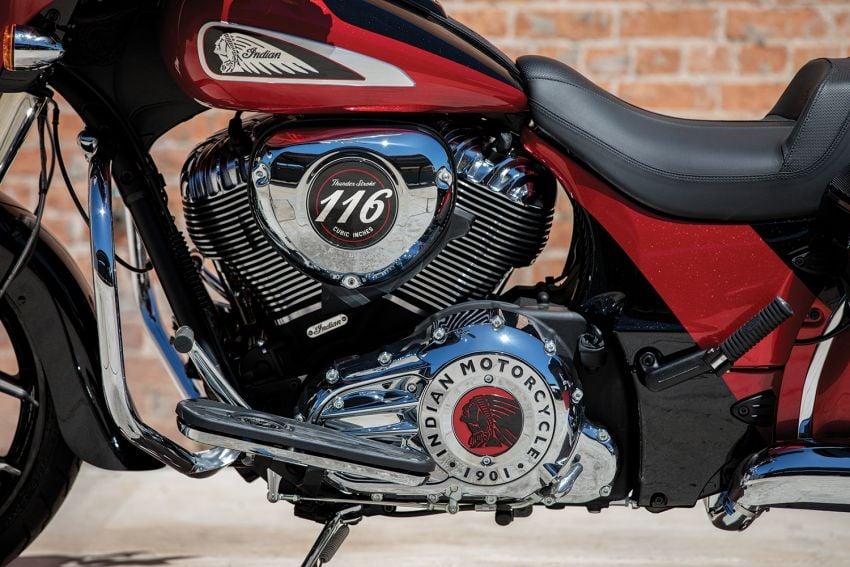 Indian Motorcycle perkenal model 2020 berenjin 1.9L Image #1014134