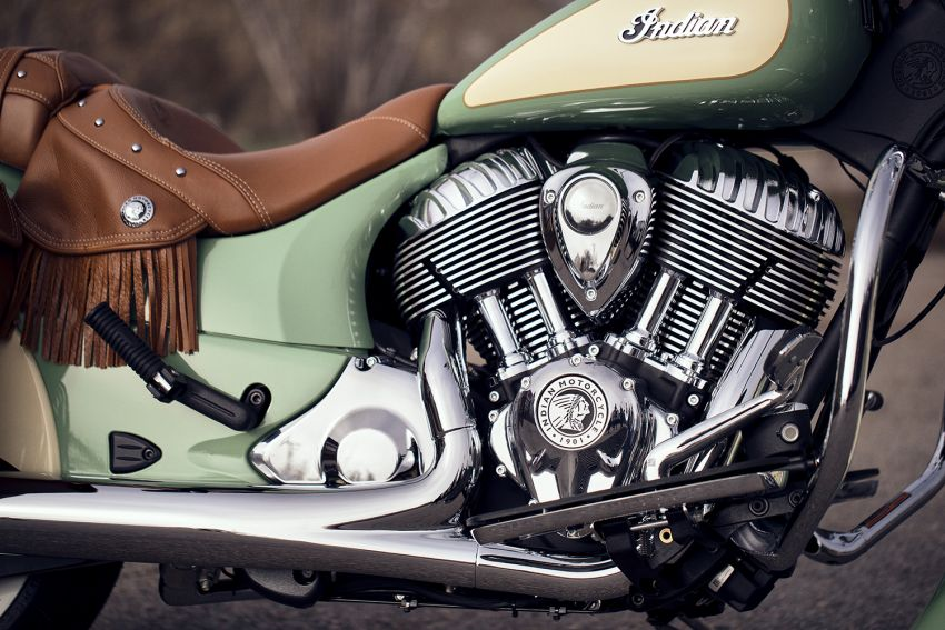 2020 Indian Motorcycle lineup with 1.9-litre V-twin Image #1013996