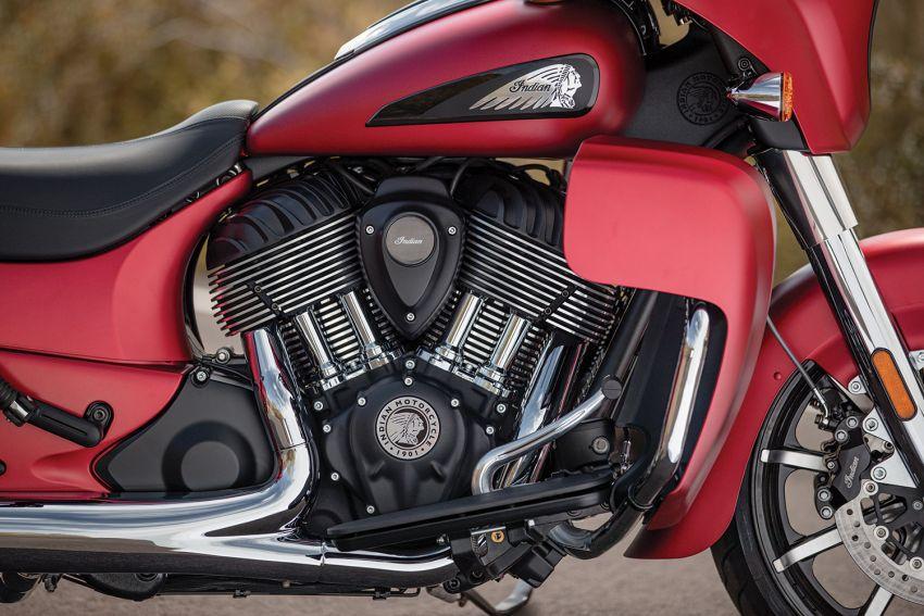 Indian Motorcycle perkenal model 2020 berenjin 1.9L Image #1014157