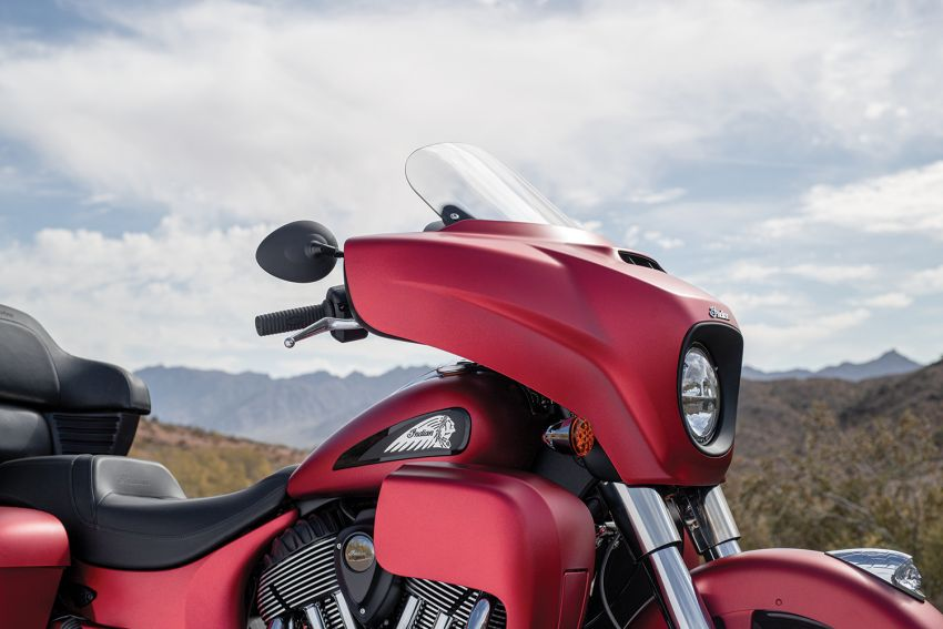 Indian Motorcycle perkenal model 2020 berenjin 1.9L Image #1014164