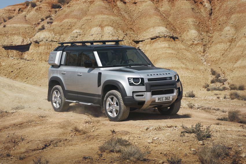 2020 Land Rover Defender debuts – aluminium monocoque, 3.0L mild-hybrid, OTA software support Image #1013164