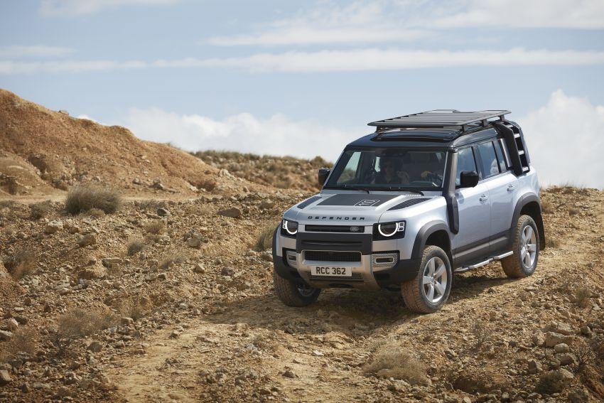 2020 Land Rover Defender debuts – aluminium monocoque, 3.0L mild-hybrid, OTA software support Image #1013165