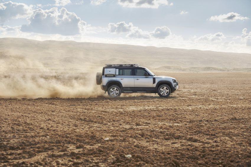2020 Land Rover Defender debuts – aluminium monocoque, 3.0L mild-hybrid, OTA software support Image #1013166