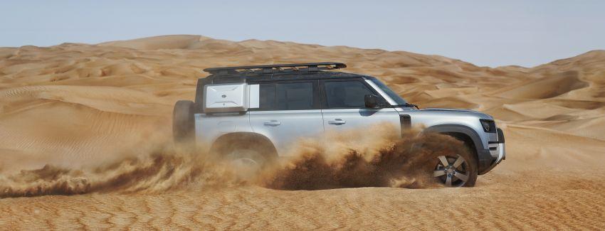 2020 Land Rover Defender debuts – aluminium monocoque, 3.0L mild-hybrid, OTA software support Image #1013167