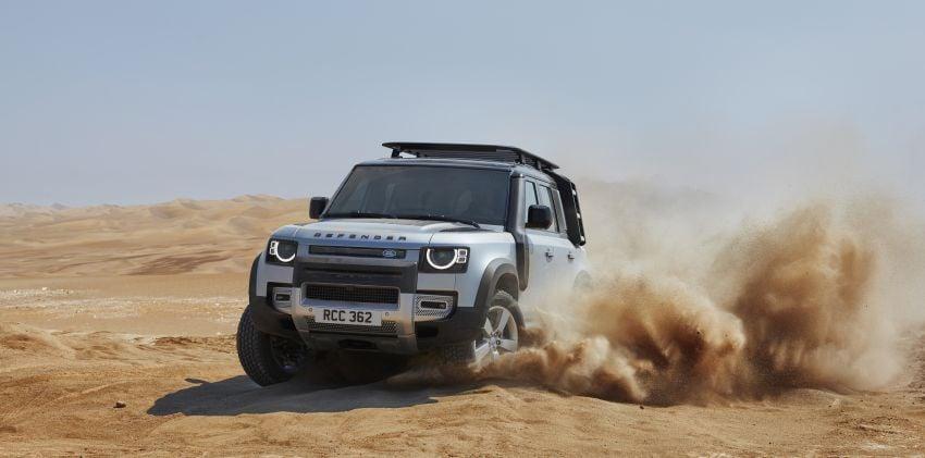 2020 Land Rover Defender debuts – aluminium monocoque, 3.0L mild-hybrid, OTA software support Image #1013168